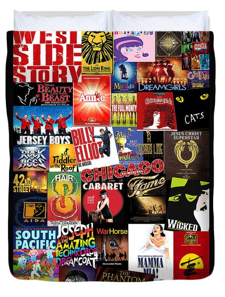 Broadway 4 Duvet Cover by Andrew Fare