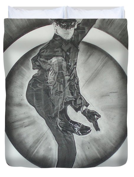 Bruce Lee Is Kato 2 Duvet Cover by Sean Connolly