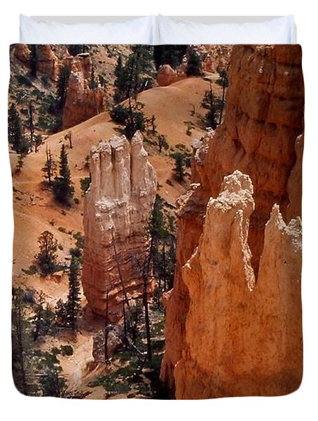 Bryce Canyon National Park 2 Duvet Cover by Thomas Woolworth