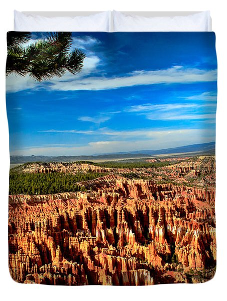 Bryce Duvet Cover by Robert Bales
