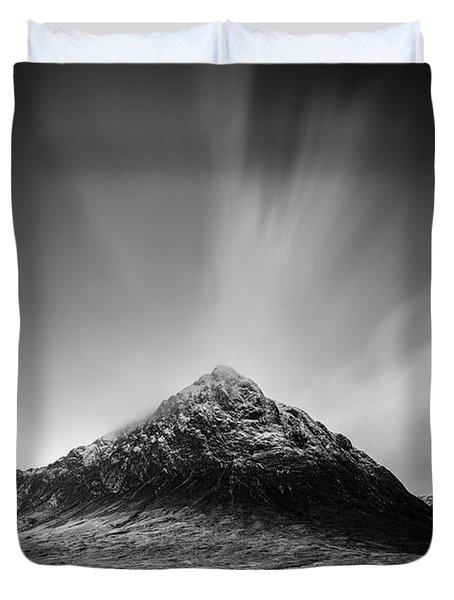 Buachaille Etive Mor 1 Duvet Cover by Dave Bowman