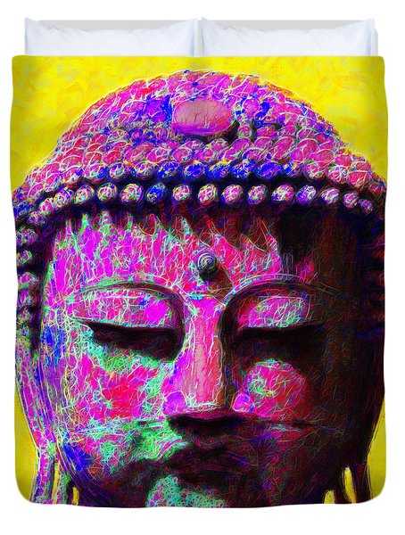 Buddha 20130130m168 Duvet Cover by Wingsdomain Art and Photography
