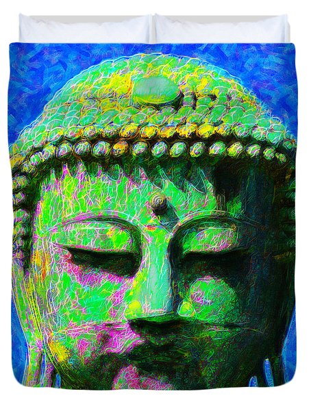 Buddha 20130130p0 Duvet Cover by Wingsdomain Art and Photography