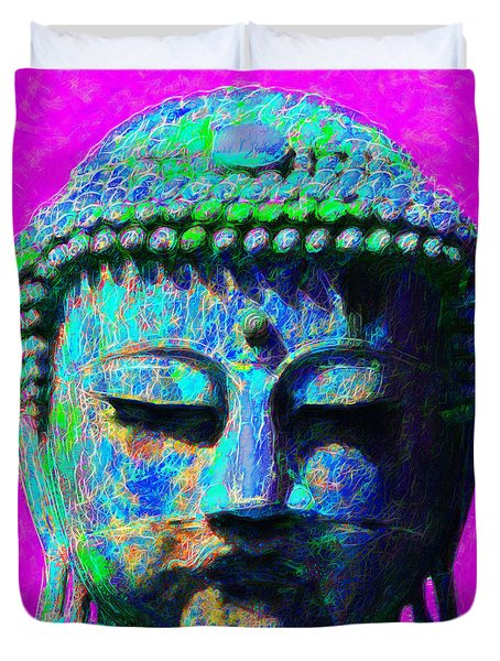 Buddha 20130130p76 Duvet Cover by Wingsdomain Art and Photography
