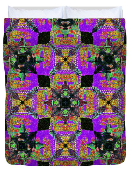 Buddha Abstract 20130130m28 Duvet Cover by Wingsdomain Art and Photography
