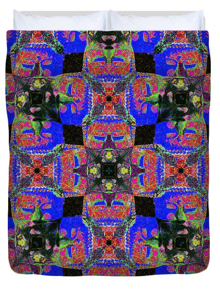 Buddha Abstract 20130130m68 Duvet Cover by Wingsdomain Art and Photography