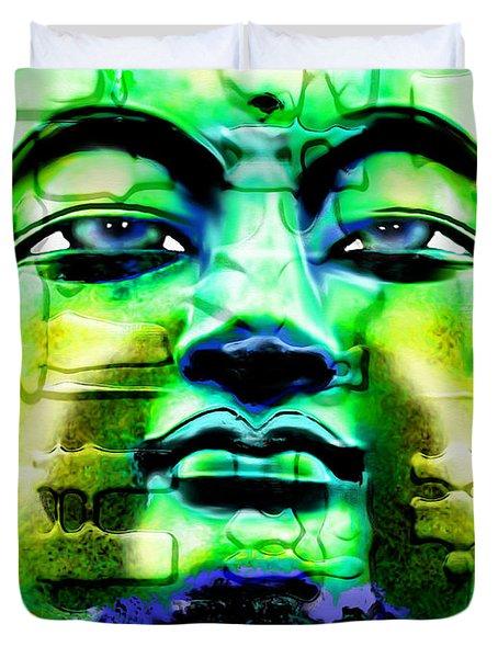 Buddha Duvet Cover by Daniel Janda