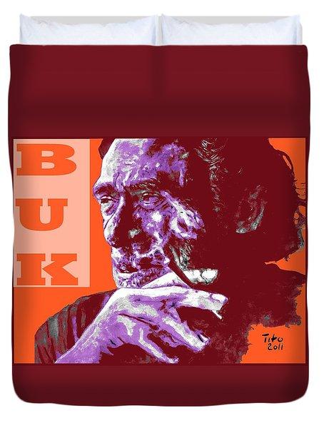 Buk  Duvet Cover by Richard Tito
