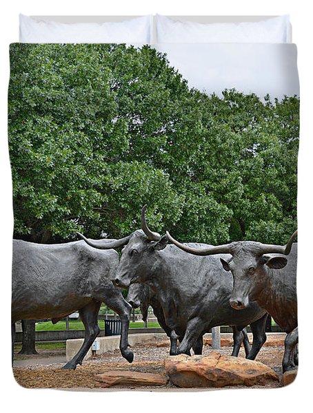 Bull Market Duvet Cover by Christine Till