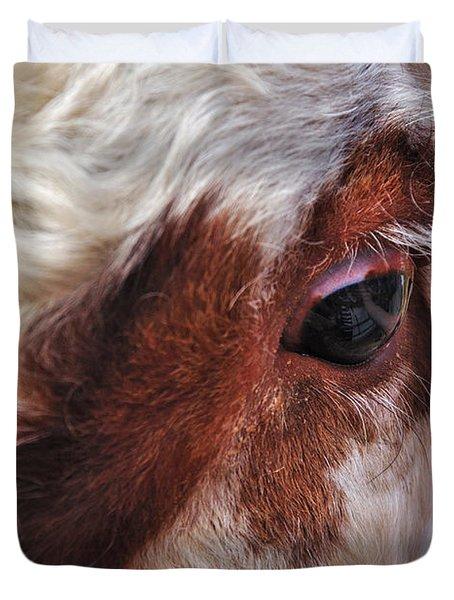 Bull's Eye Duvet Cover by Kaye Menner