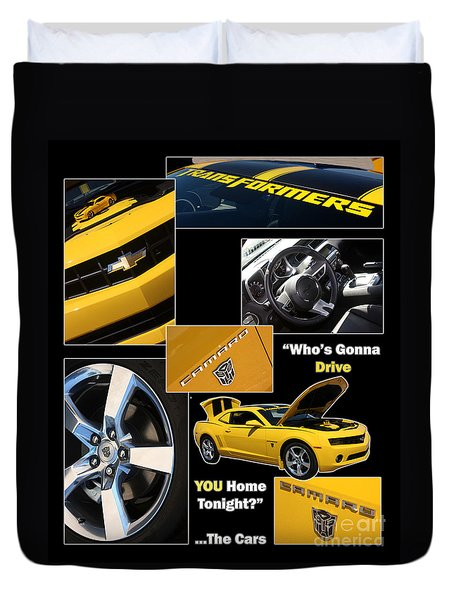 Bumble Bee-drive - Poster Duvet Cover by Gary Gingrich Galleries