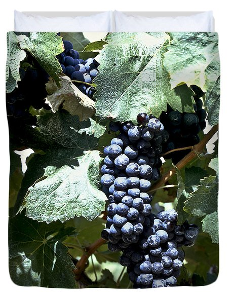 Bunch Of Grapes Duvet Cover by Heiko Koehrer-Wagner