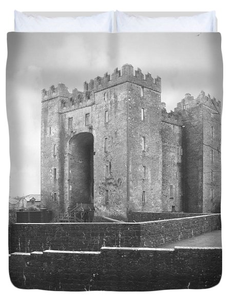 Bunratty Castle - Ireland Duvet Cover by Mike McGlothlen