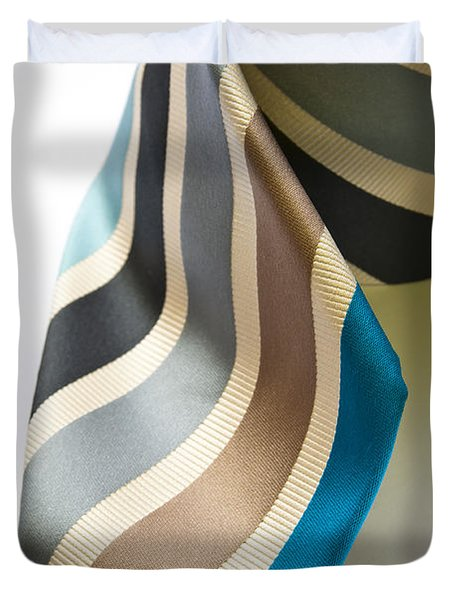 Business Tie Duvet Cover by Tim Hester