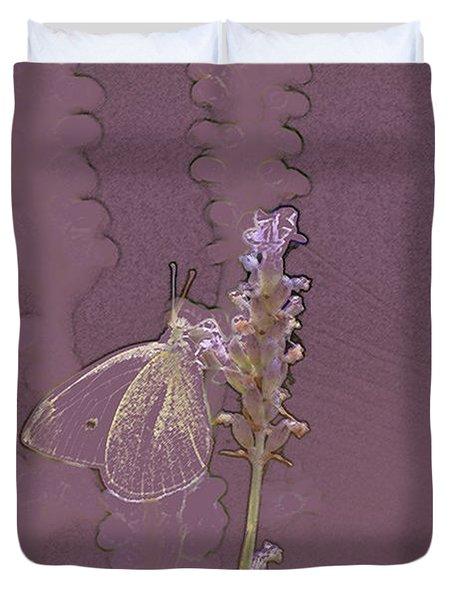 Butterfly 3 Duvet Cover by Carol Lynch