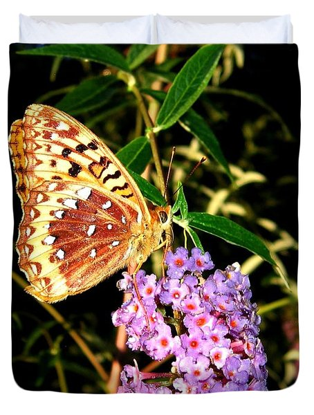 Butterfly Banquet 2 Duvet Cover by Will Borden