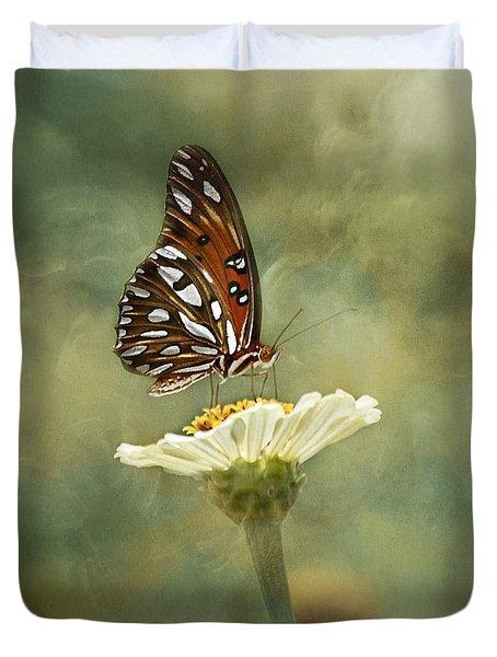 Butterfly Dreams Duvet Cover by Kim Hojnacki