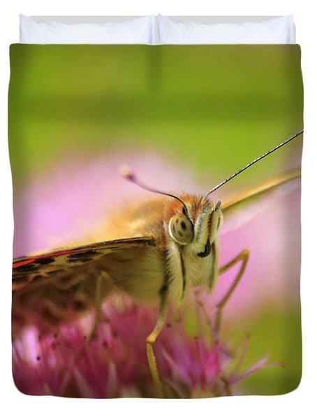 Butterfly Macro Duvet Cover by Adam Romanowicz
