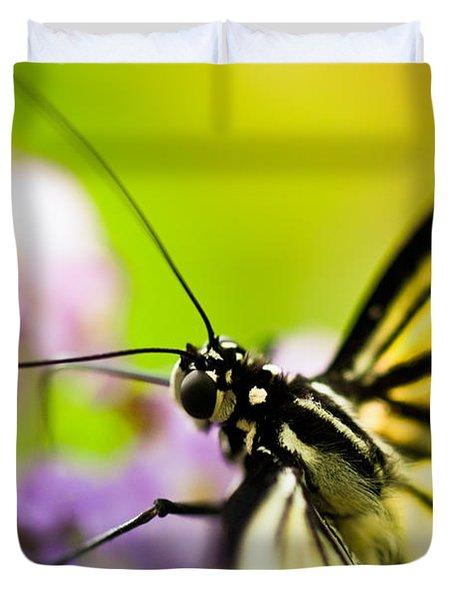 Butterfly Duvet Cover by Sebastian Musial