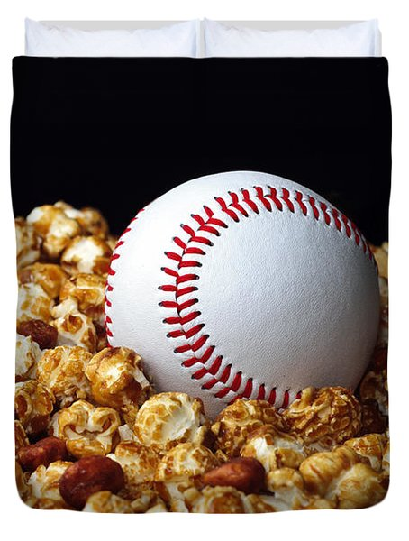 Buy Me Some Cracker Jack 1 Duvet Cover by Andee Design