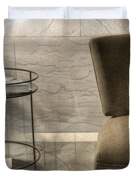 By Lamplight Duvet Cover by Margie Hurwich