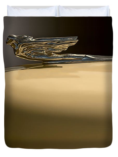Cadillac Flare Duvet Cover by Kurt Golgart