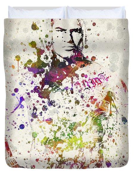 Cain Velasquez Duvet Cover by Aged Pixel