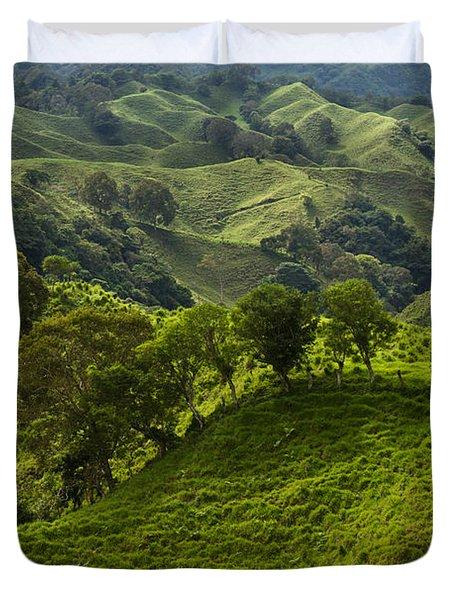 Caizan Hills Duvet Cover by Heiko Koehrer-Wagner