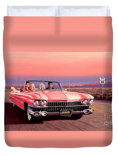 California Dreamin' Duvet Cover by Michael Swanson