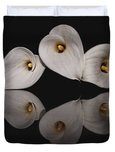 Calla Circle D4423 Duvet Cover by Wes and Dotty Weber