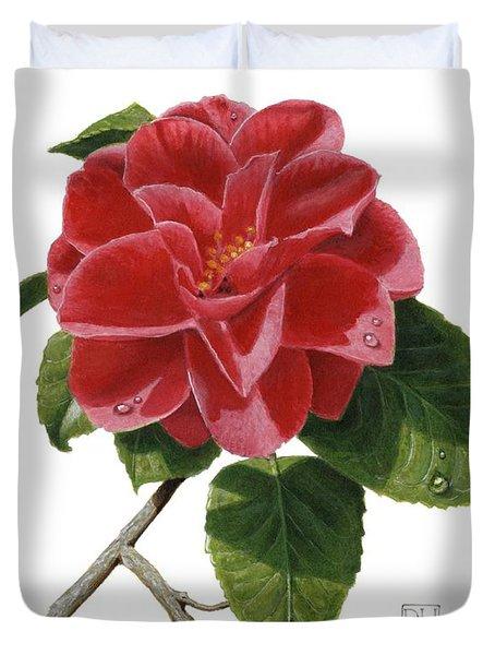 Camellia Duvet Cover by Richard Harpum