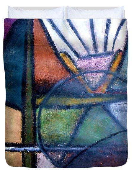 Canoe Duvet Cover by Venus