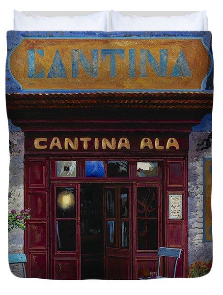 cantina Ala Duvet Cover by Guido Borelli