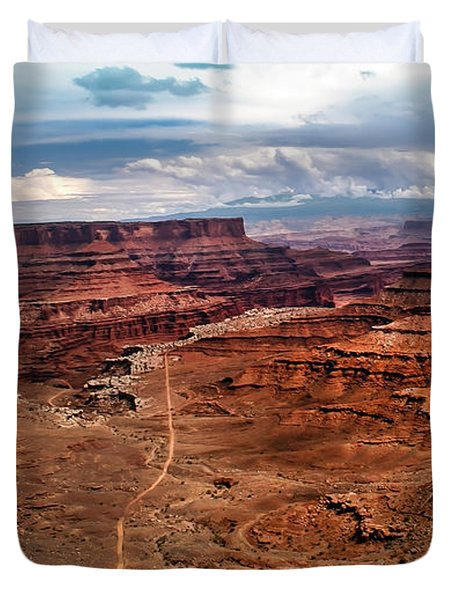 Canyonland Duvet Cover by Robert Bales