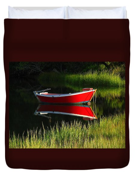 Cape Cod Solitude Duvet Cover by Juergen Roth