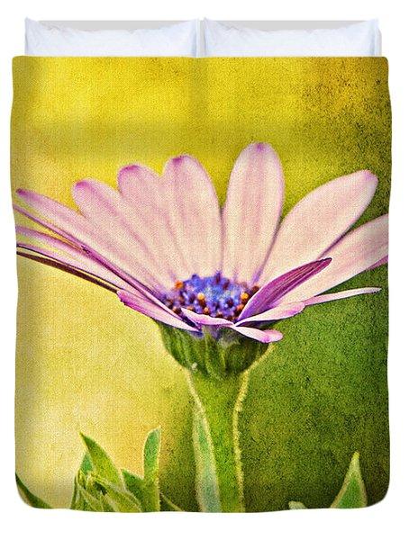 Cape Daisy Duvet Cover by Lois Bryan