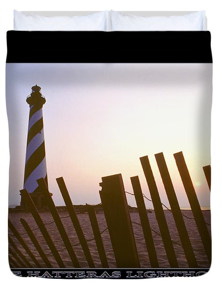 Cape Hatteras Lighthouse Duvet Cover by Mike McGlothlen