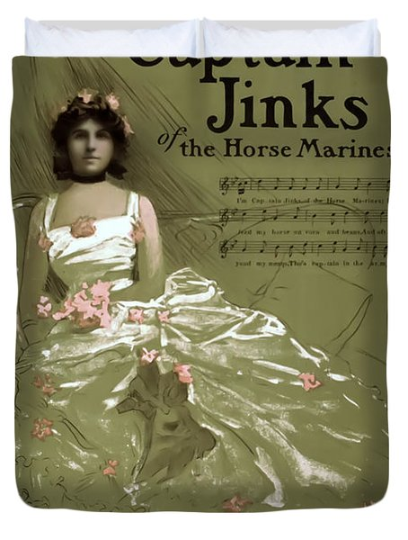Captain Jinks Duvet Cover by Terry Reynoldson
