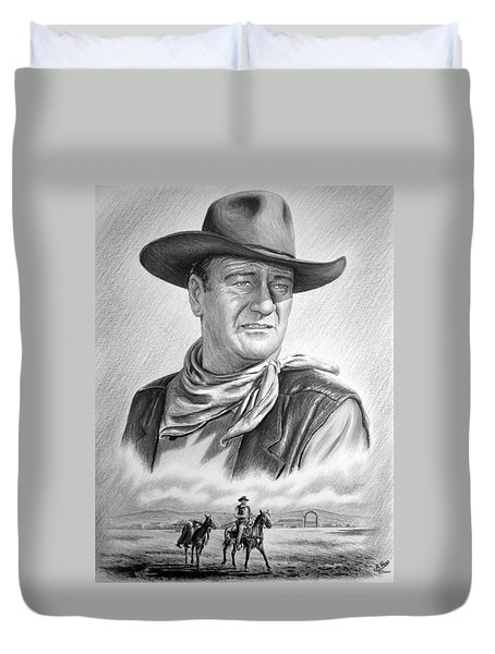 Captured bw version no2 Duvet Cover by Andrew Read