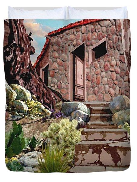 Casa Tijuana Duvet Cover by Ronald Chambers