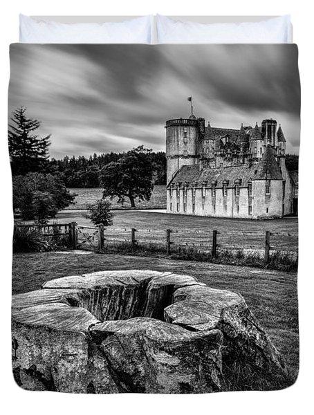 Castle Fraser Duvet Cover by Dave Bowman