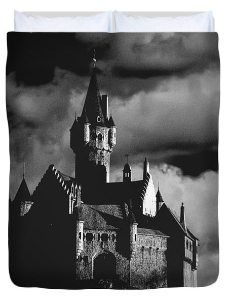 Castle in the sky Duvet Cover by Bob Orsillo