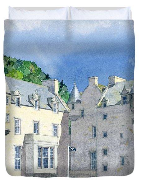 Castle Menzies Duvet Cover by David Herbert