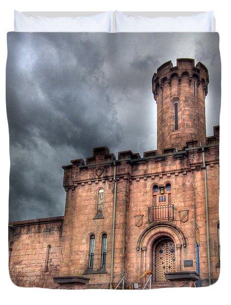 Castle of Solitude Duvet Cover by Lori Deiter