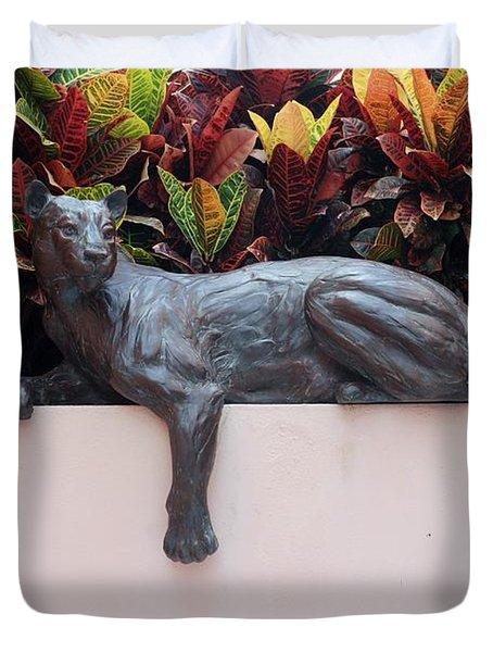 CAT Duvet Cover by Rob Hans