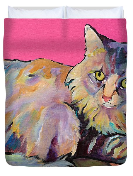 Catatonic Duvet Cover by Pat Saunders-White