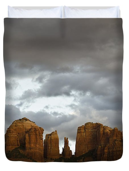 Cathedral Rock Duvet Cover by David Gordon