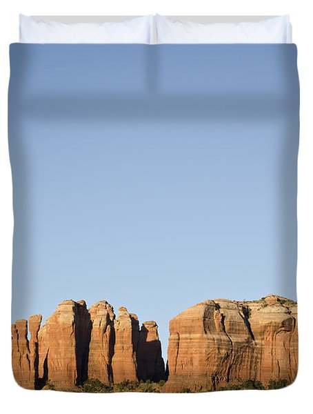 Cathedral Rock VI Duvet Cover by David Gordon