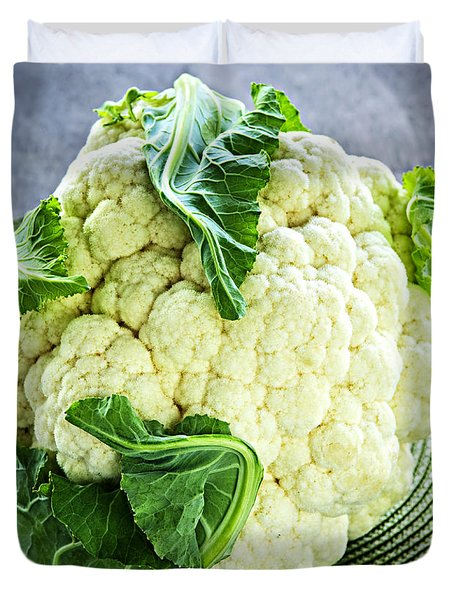 Cauliflower Duvet Cover by Elena Elisseeva