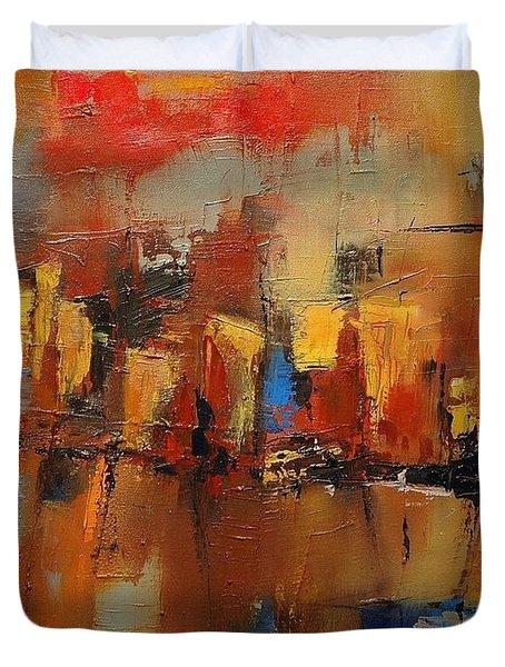 Cefalu Duvet Cover by Elise Palmigiani